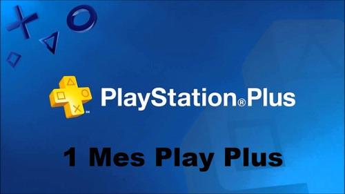 play plus 1 mes ps4  juega online con tu cuenta!