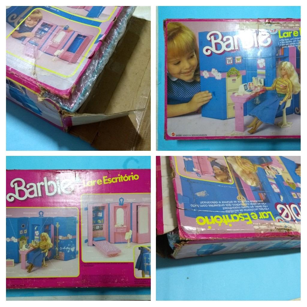 Play Set Home And Office Da Barbie Lar E Escritorio L R 275 00 Em