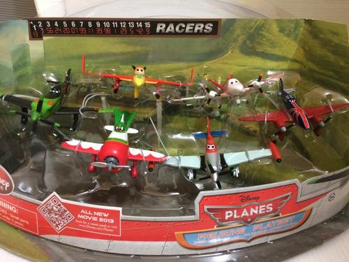 play set  planes racers original disney store na caixa