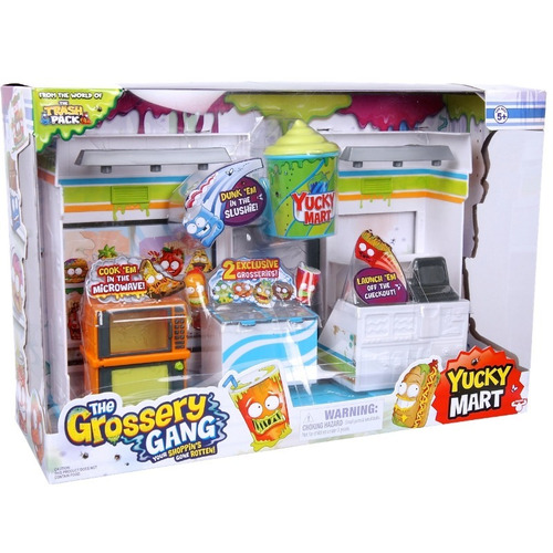 play sets the grossery gang yuccky mart