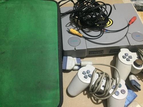 play station 1 +memoria+ controles y juegos