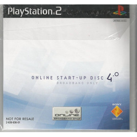 Play Station 2 Online Start-up Disc 4.0 Broadband Only