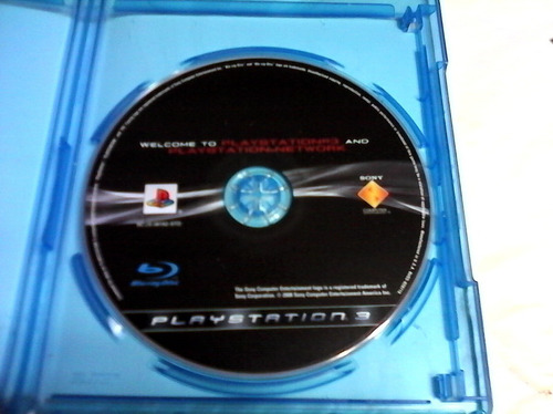 play station 3 and playstation network-blu ray disc-instruct