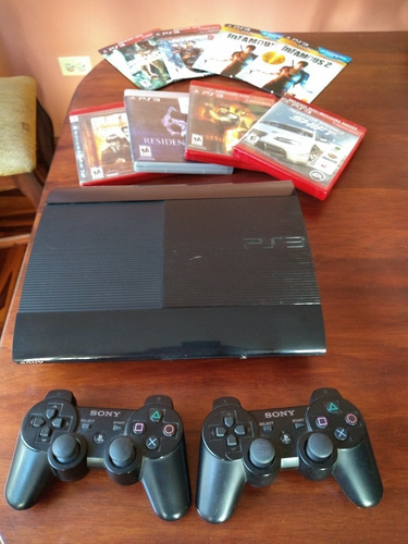 play station 3 color negro