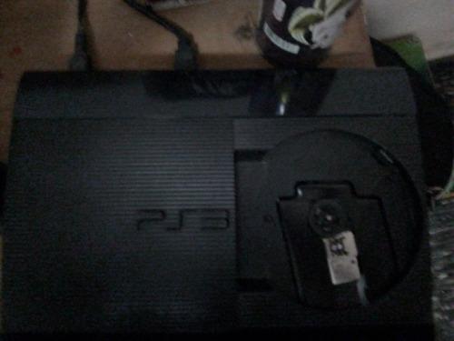 play station 3 + tres juegos + joystick
