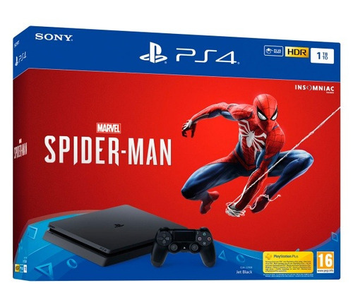 play station 4 1tb juego spiderman importadas legalmente