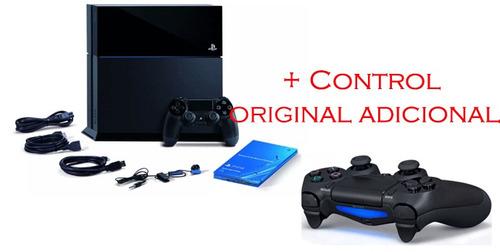 play station 4 slim 500gb + 1 control adicional original