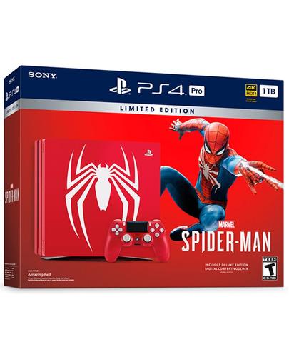play station 4 spider-man/1tb/nuevos de paquete