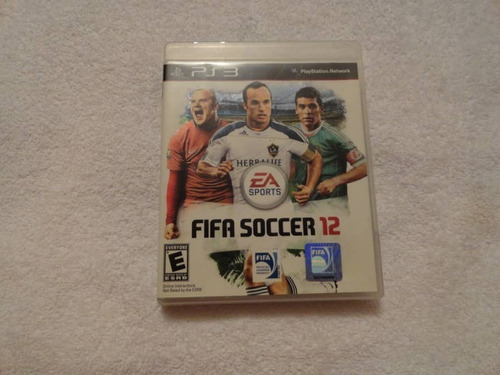 play station ps3 juego fifa soccer 12 orig remate total usad