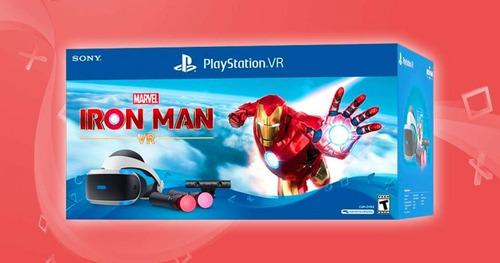 play station vr ironman +camara +2move +2juegos