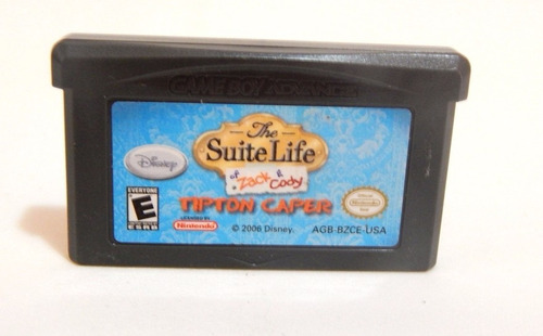 play suite life of zack & cody ds e gba game boy advance