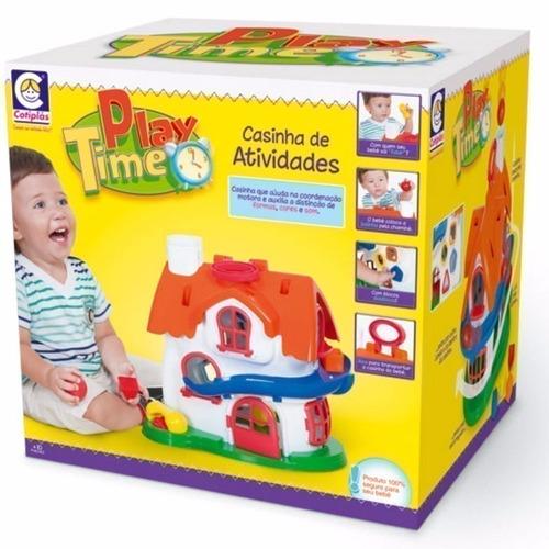 play time casinha de atividades divertida cotiplas sem juros