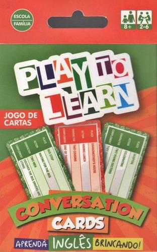play to learn - conversation cards - jogo de cartas - play t