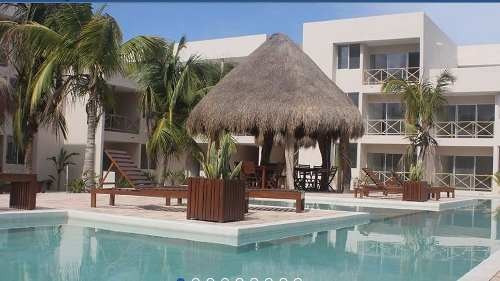 playa chacá chixculub puerto departamento de 3 habitaciones