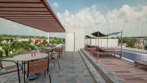 playa del carmen, preventa de 14 departamentos de lujo a 10 minutos de la playa