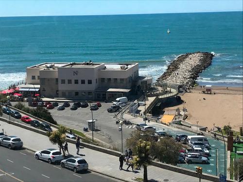 playa grande exc.4 ambientes vista plena al mar cochera wifi