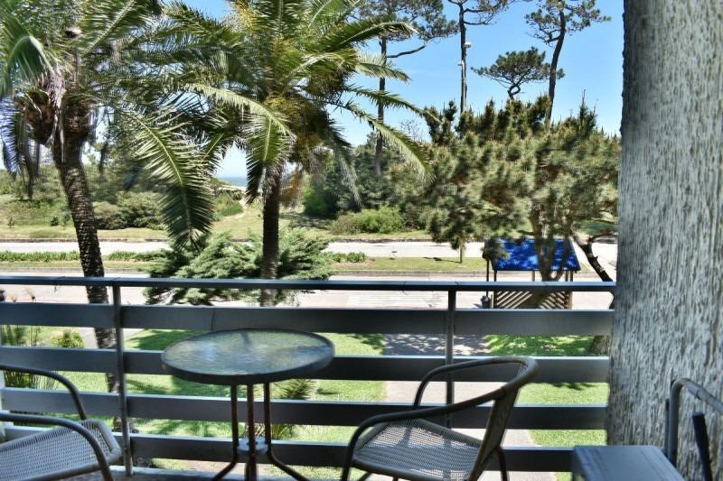 playa mansa frente al mar ,  comoda terraza- ref: 398