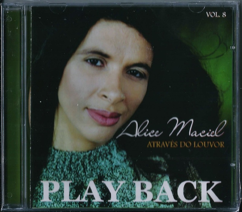 cd play back alice maciel atraves do louvor