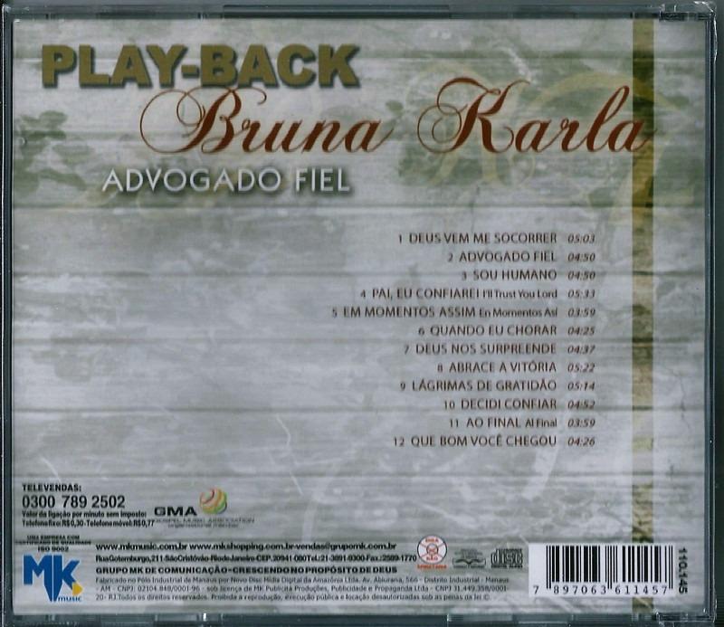 playback da musica advogado fiel de bruna karla