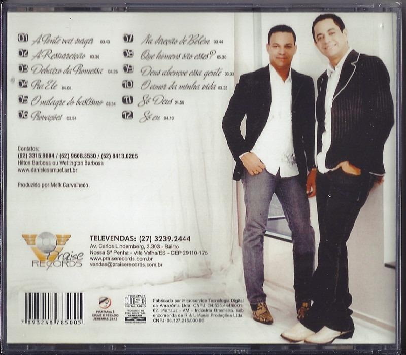 Playback Daniel E Samuel Debaixo Da Promessa Biblos R 22 99 Em