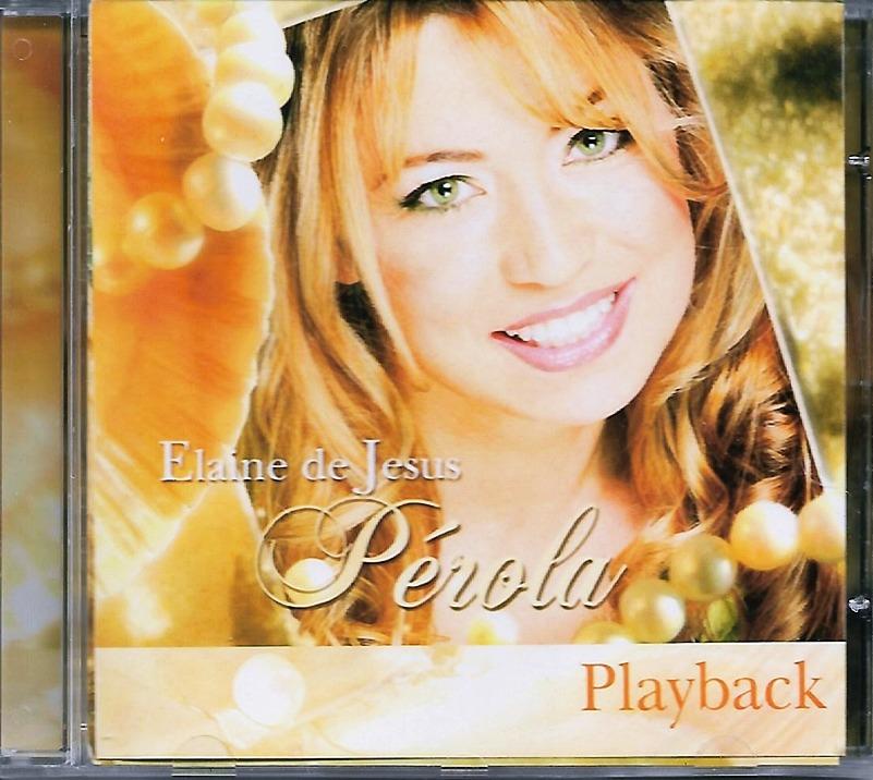 playback cd perola elaine jesus