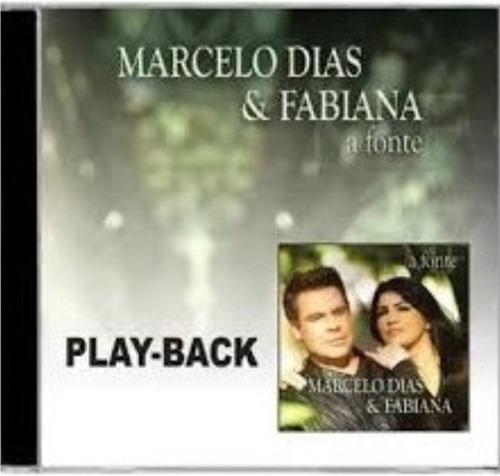playback marcelo dias & fabiana - a fonte
