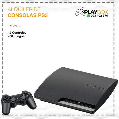 playbox - alquiler de consolas, playstation, ps4, xbox 360