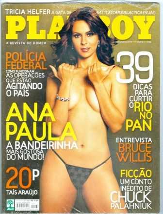 Playboy 386 Ana Paula Oliveira 2007 Lacrada Da Abril Otima R 80
