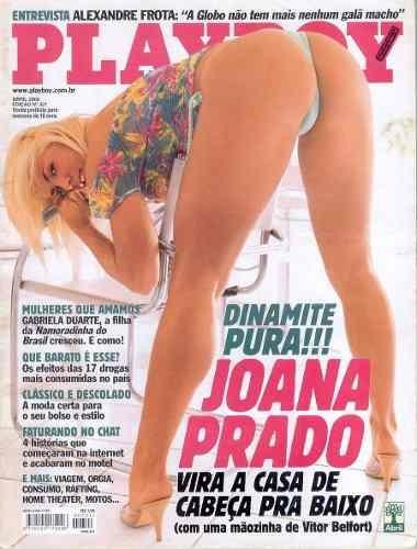 playboy - abril 2002 - joana prado