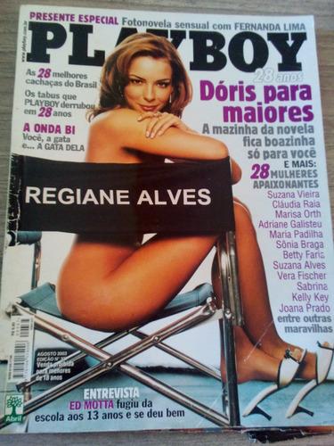 playboy ag/2003 - regiane alves - claudia raia - marisa orth