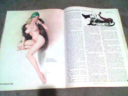 playboy americana año 1974 ¡¡ pin ups!! de chicas de vargas