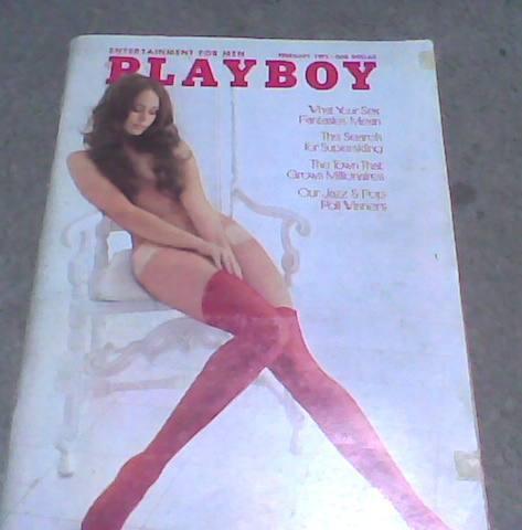 playboy año 1973 con pin ups de vargas