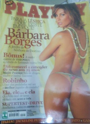 playboy barbara borges- 2005
