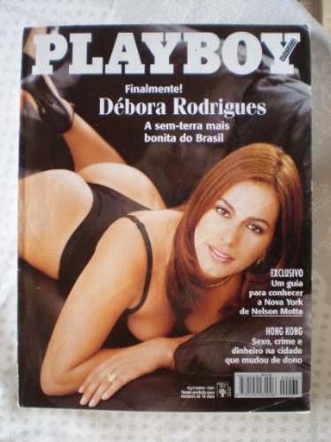 playboy  débora rodrigues a sem terra nº 267 out/97