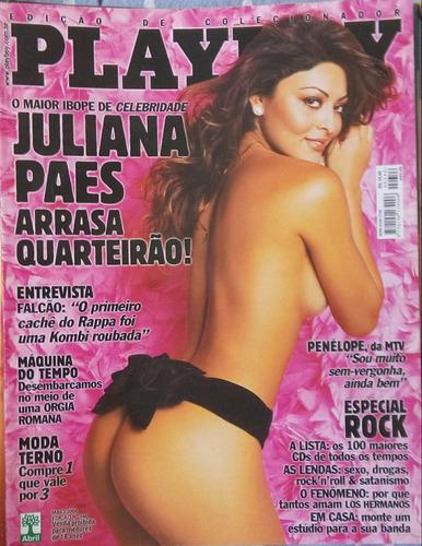 playboy juliana paes- 2004