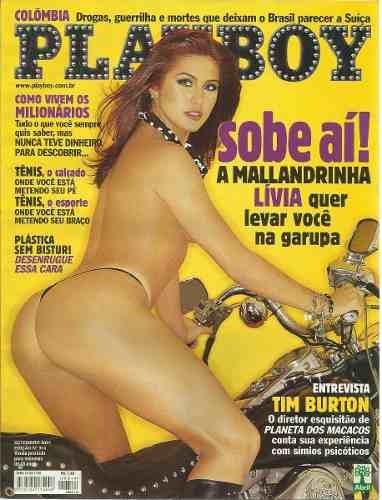 playboy lívia andrade - setembro de 2001