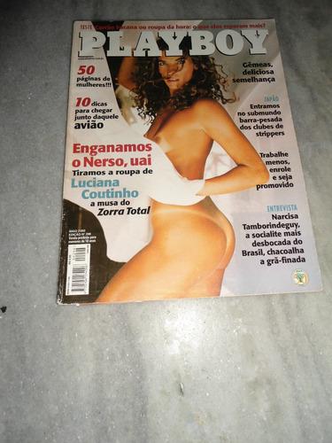 playboy  luciana coutinho - nº 298 - 05/2000