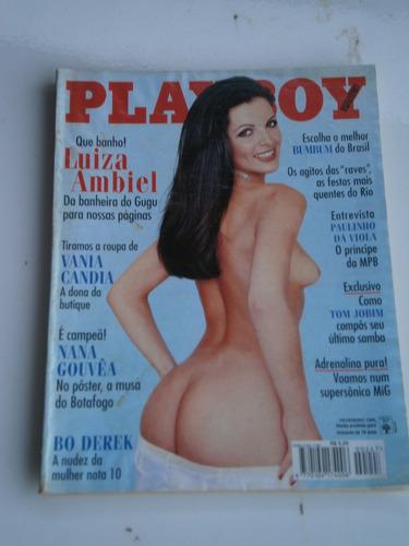 playboy luiza ambiel   fevereiro de 1996