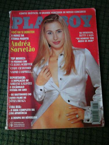 playboy n. 245 dez/1995 - andrea sorvetao - leia o anuncio!