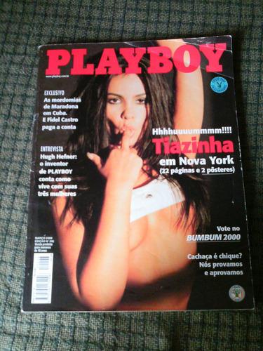 playboy n. 296 tiazinha em n.y. março de 2000