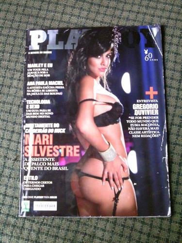 playboy n. 466 - março 2014 - mari silvestre