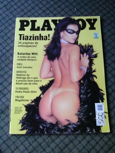 playboy tiazinha março de 1999