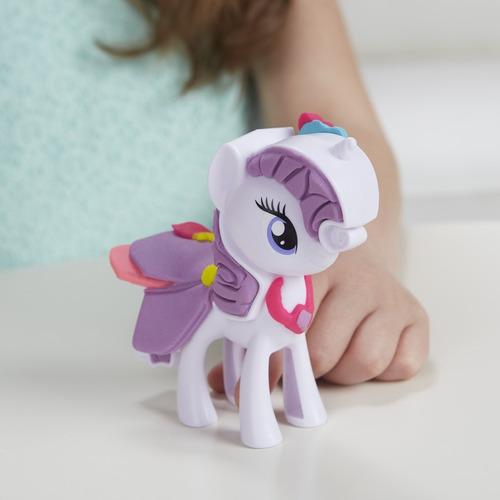 playdoh twilight n rarity moda divertida - my little pony...
