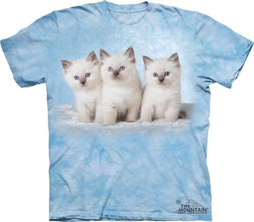 playera 4d - unisex infantiles - 8170 cloud kittens.