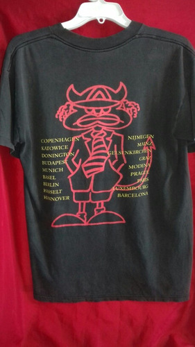 playera ac/dc vintage 1990 tour brockum de coleccion