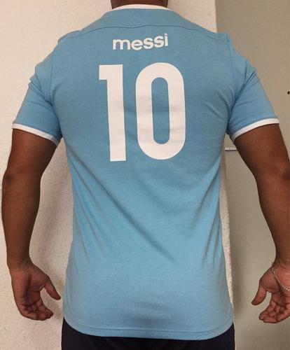 playera adidas argentina messi 10 nueva talla chica