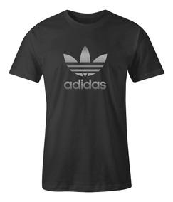c47bad61a Playera Adidas Negra Dorada en Mercado Libre México