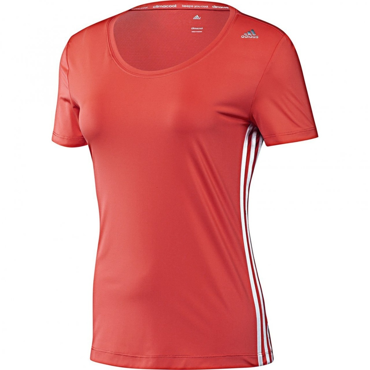 ce853be269521 Playera adidas Climacool Training Core D89464 Coral -   479.00 en ...
