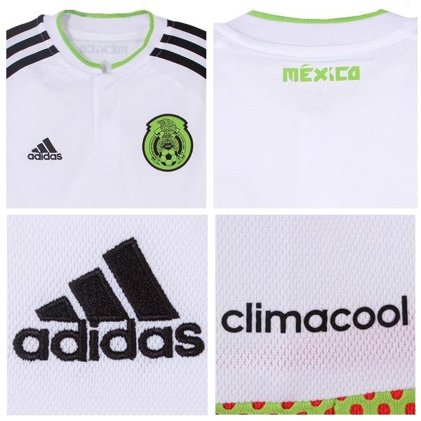 Playera adidas De Mexico Blanca Giovani Dos Santos Para Niño ... 7cb2ca5398091