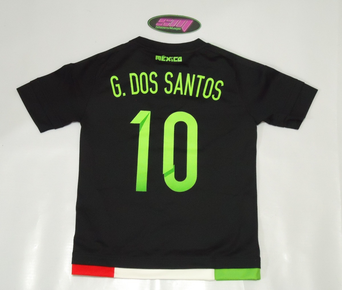 Playera adidas de mexico giovani dos santos para niño cargando zoom jpg  1200x1016 Playera giovani dos 029af30161aa8